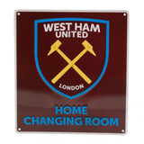 West Ham United FC Home Changing Room Sign - Football Centrum