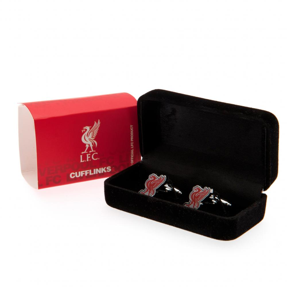 Liverpool FC Cufflinks LB - Football Centrum