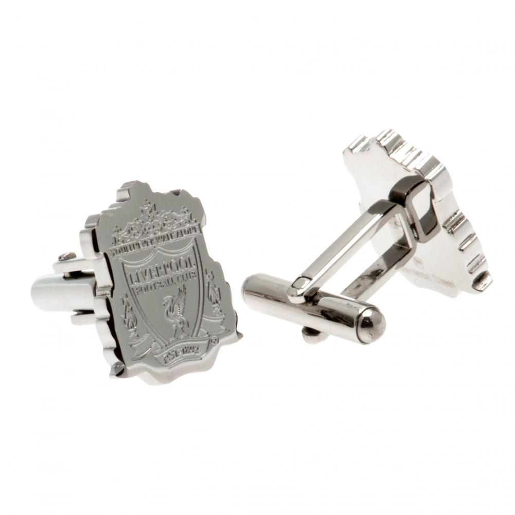 Liverpool FC Stainless Steel Formed Cufflinks CR - Football Centrum
