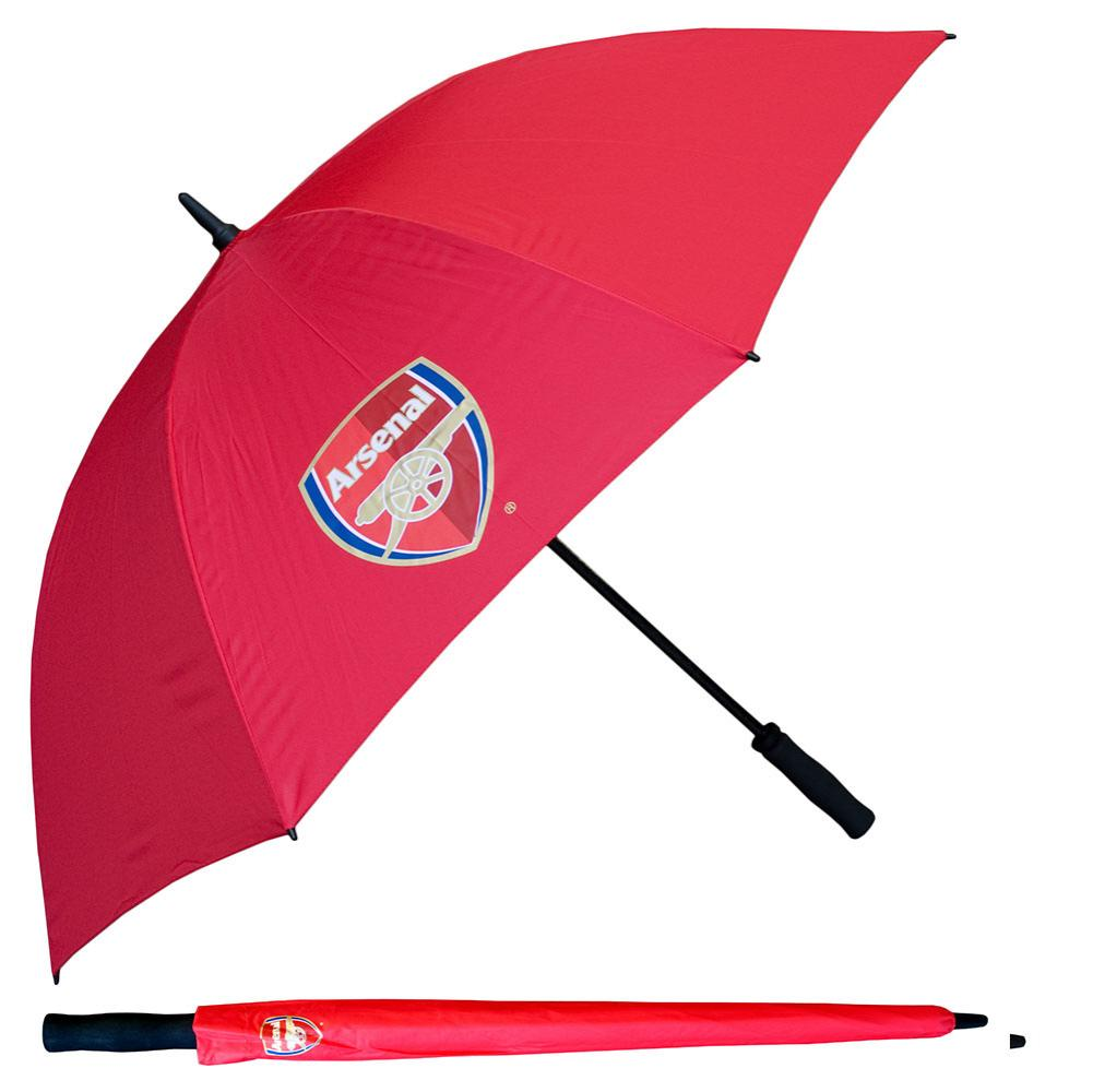 Arsenal FC Golf Umbrella Single Canopy - Football Centrum