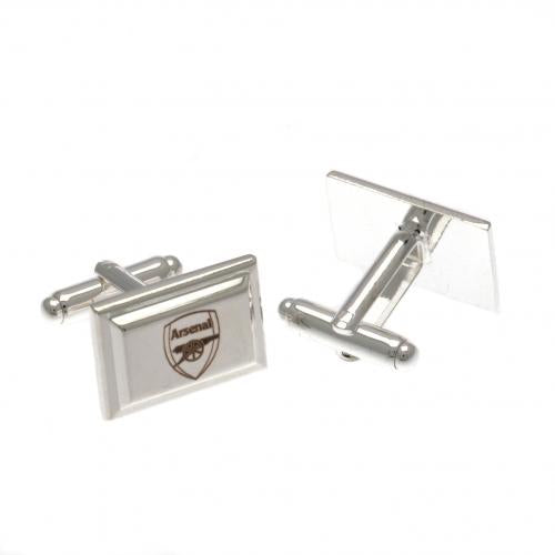 Arsenal FC Silver Plated Cufflinks - Football Centrum