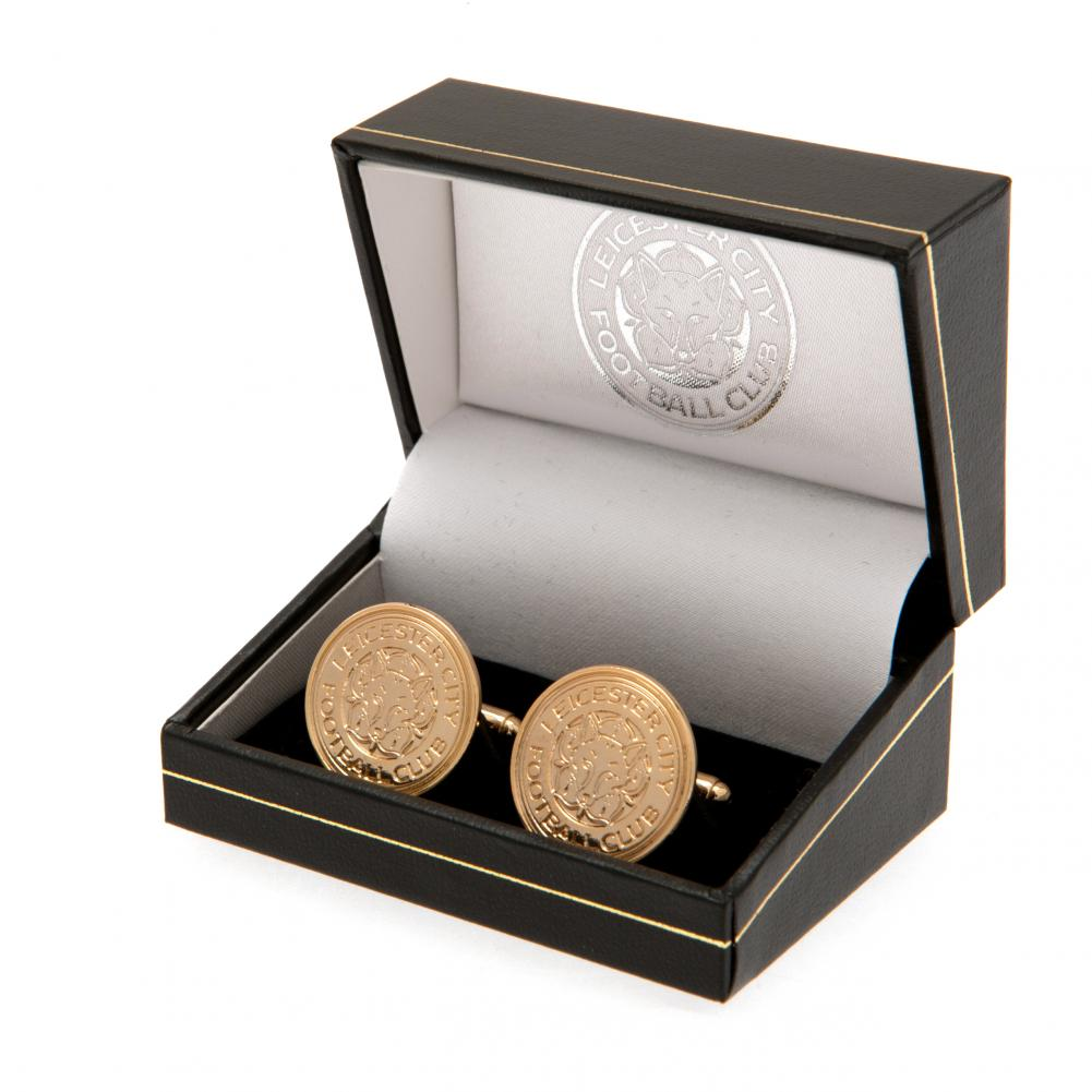 Leicester City FC Gold Plated Cufflinks - Football Centrum
