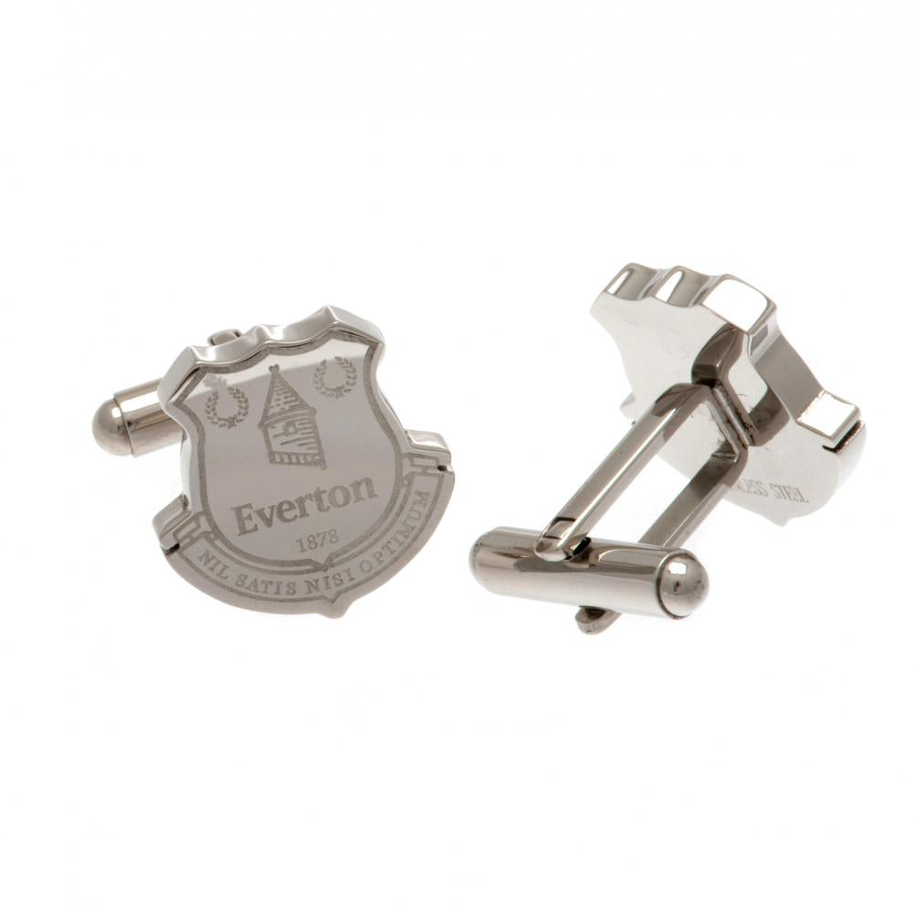 Everton FC Stainless Steel Formed Cufflinks - Football Centrum