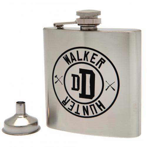 The Walking Dead Stainless Steel Hip Flask - Football Centrum