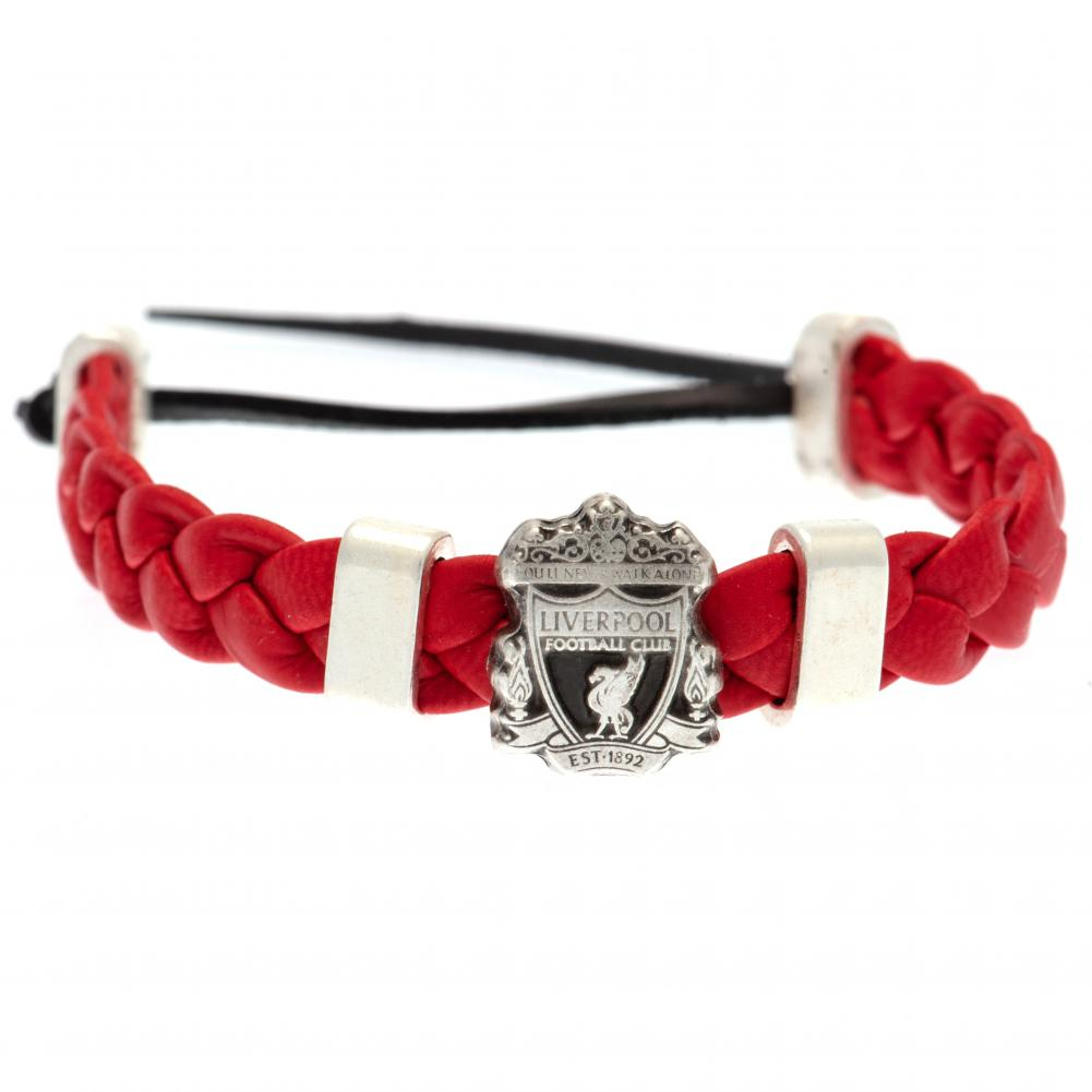 Liverpool FC PU Slider Bracelet - Football Centrum
