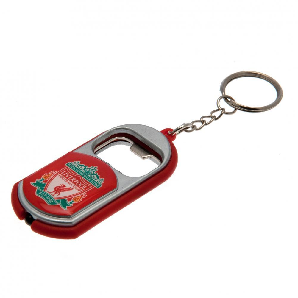 Liverpool FC Key Ring Torch Bottle Opener - Football Centrum