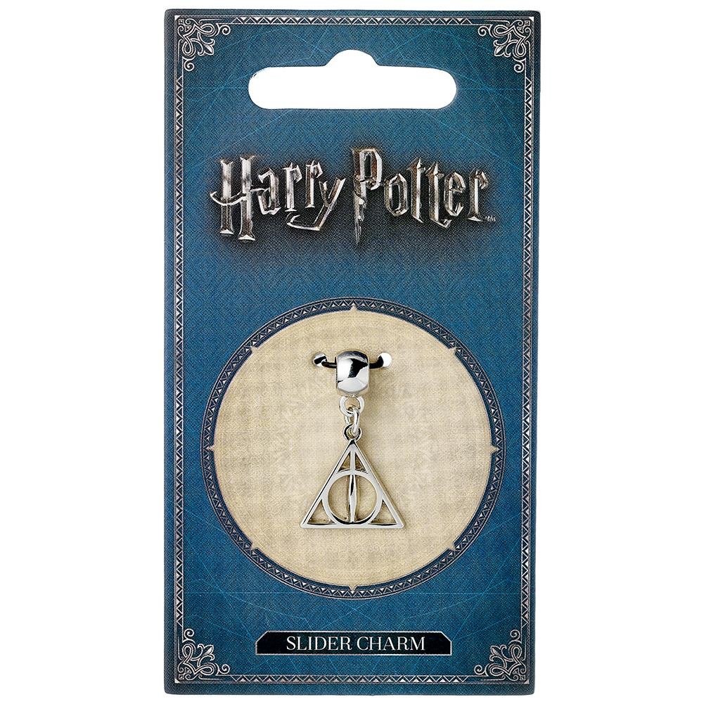 Harry Potter Silver Plated Charm Deathly Hallows - Football Centrum