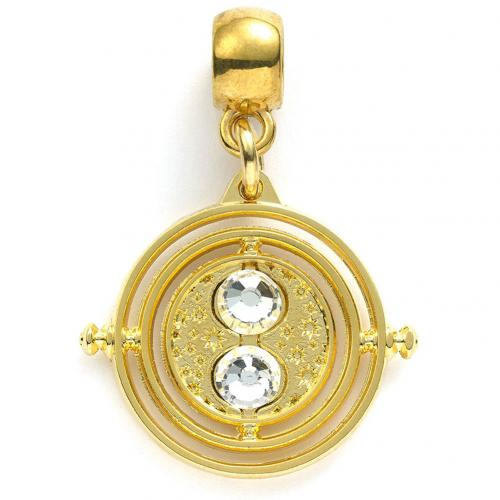 Harry Potter Gold Plated Charm Time Turner - Football Centrum