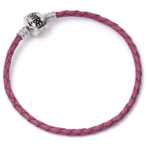 Harry Potter Leather Charm Bracelet Pink S - Football Centrum