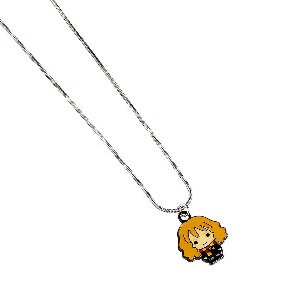 Harry Potter Silver Plated Necklace Chibi Hermione - Football Centrum