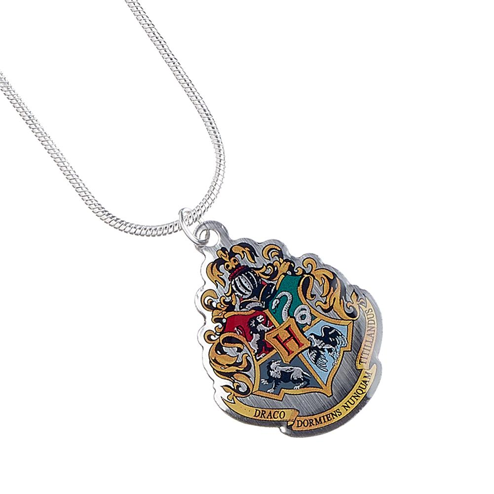 Harry Potter Silver Plated Necklace Hogwarts - Football Centrum