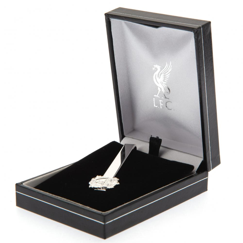 Liverpool FC Silver Plated Tie Slide - Football Centrum