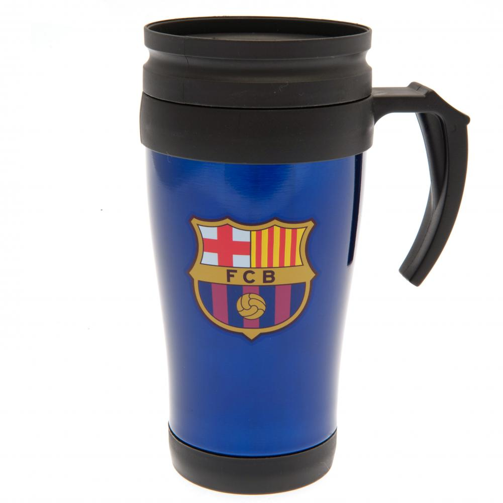 FC Barcelona Handled Travel Mug BL - Football Centrum