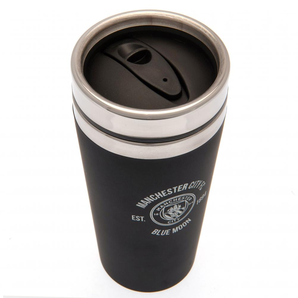 Manchester City FC Executive Travel Mug - Football Centrum