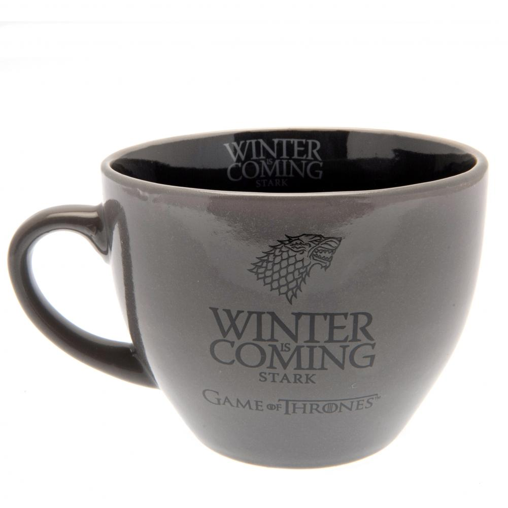 Game Of Thrones Cappuccino Mug Stark - Football Centrum