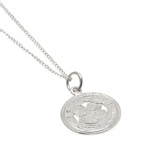 Celtic FC Sterling Silver Pendant & Chain - Football Centrum