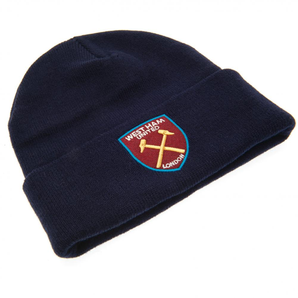 West Ham United FC Knitted Hat TU - Football Centrum