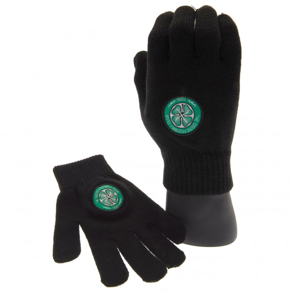 Celtic FC Knitted Gloves Yths - Football Centrum