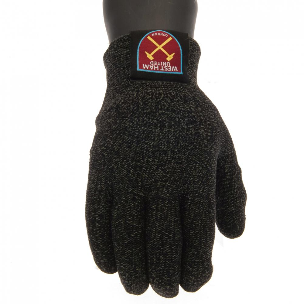 West Ham United FC Luxury Touchscreen Gloves Adult - Football Centrum