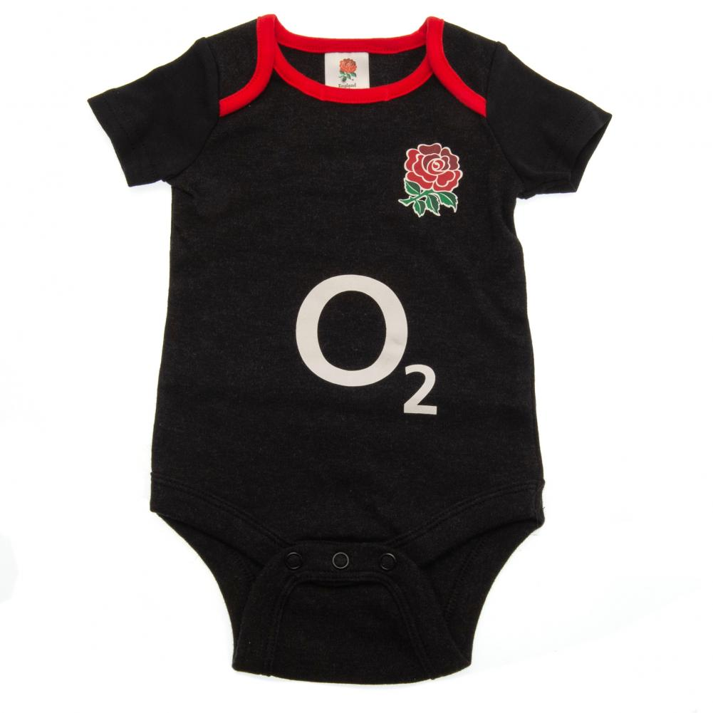 England RFU 2 Pack Bodysuit 9/12 mths GR - Football Centrum
