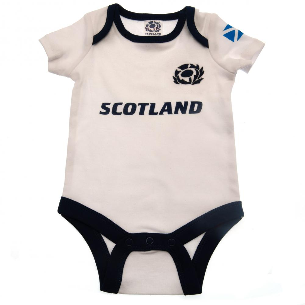 Scotland RU 2 Pack Bodysuit 6/9 mths PL - Football Centrum