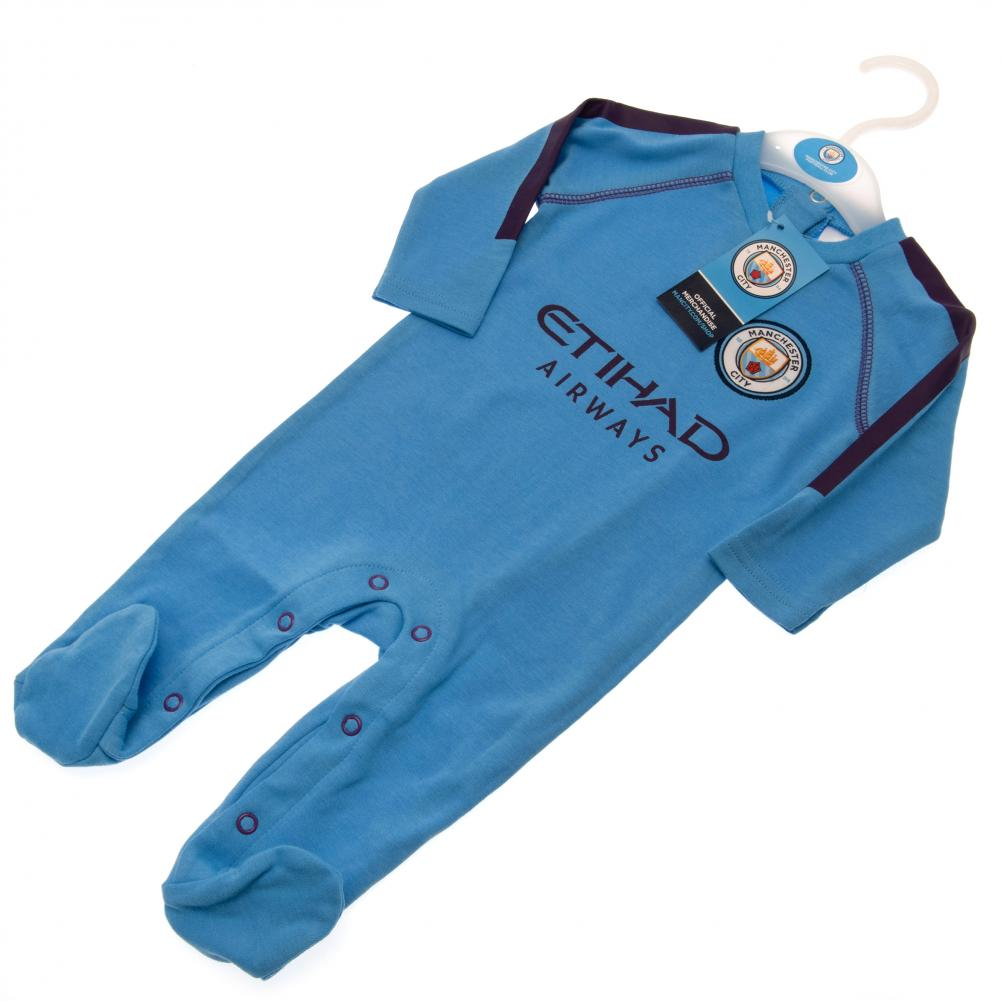 Manchester City FC Sleepsuit 9/12 mths PL - Football Centrum