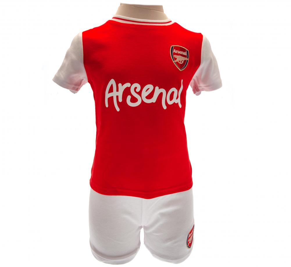 Arsenal FC Shirt & Short Set 9/12 mths RT - Football Centrum