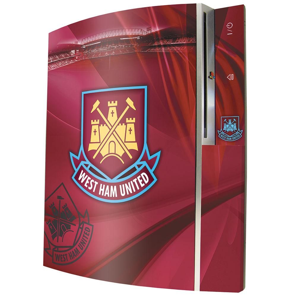 West Ham United FC PS3 Console Skin - Football Centrum