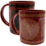 Game Of Thrones Heat Changing Mug Lannister - Football Centrum