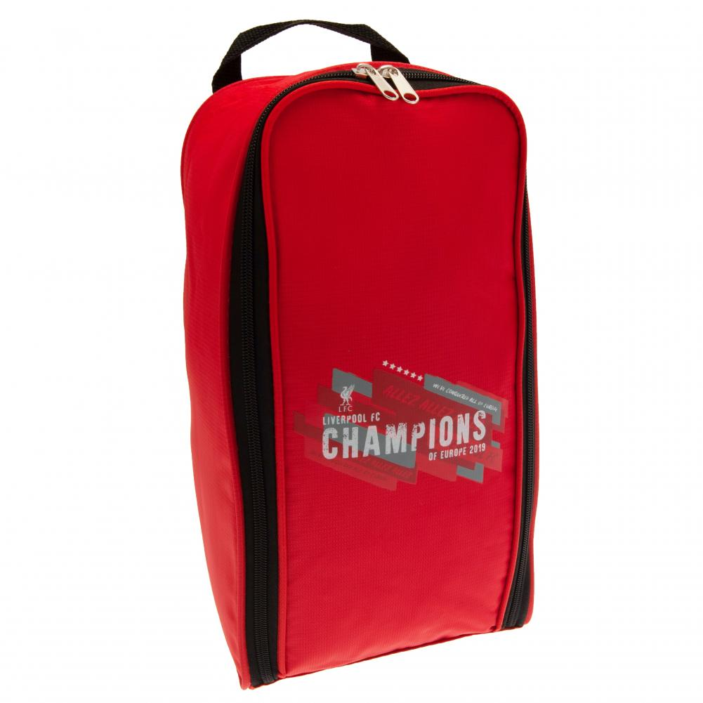 Liverpool FC Champions Of Europe Boot Bag - Football Centrum