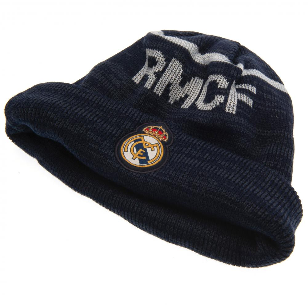 Real Madrid FC Knitted Hat TU - Football Centrum