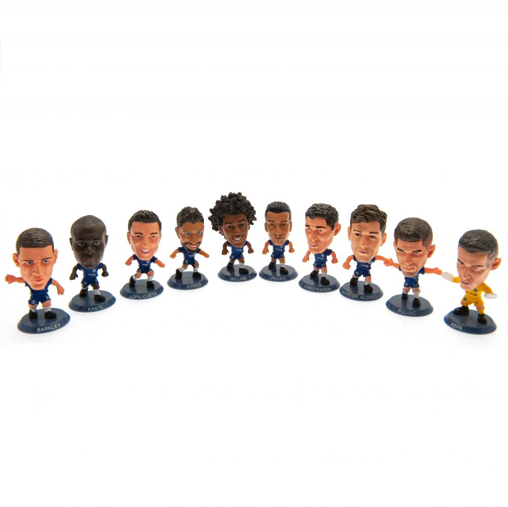 Chelsea FC SoccerStarz 10 Player Team Pack - Football Centrum