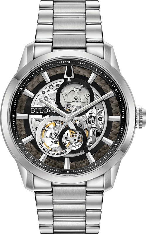 Bulova Automatic Mens Watch 96A208