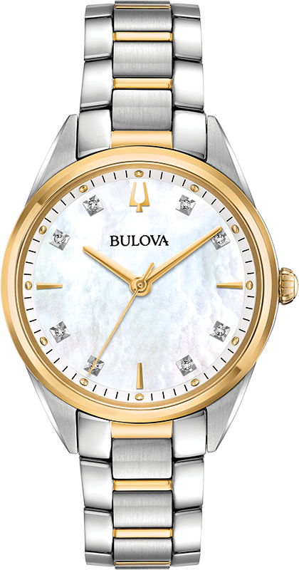 Bulova Quartz Womens Watch 98P184