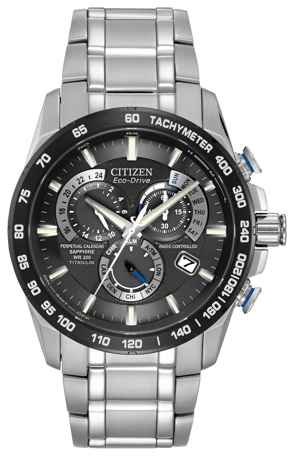 Citizen Eco Drive Perpetual Chrono A-T Men's Watch AT4010-50E