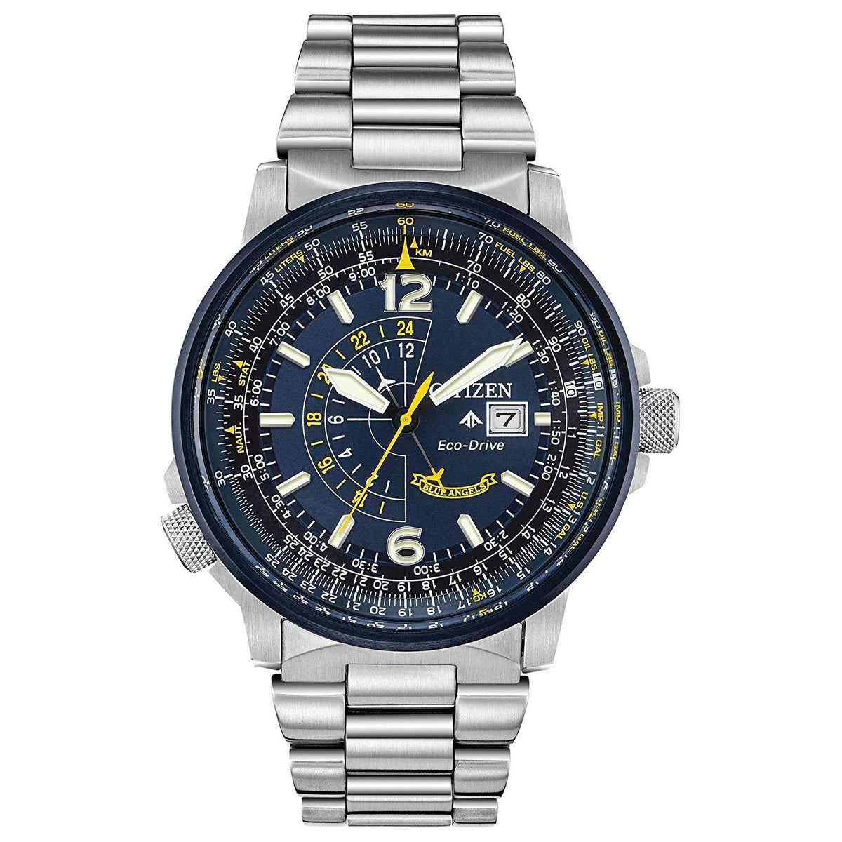 Citizen Blue Angels Eco-Drive Mens Watch BJ7006-56L