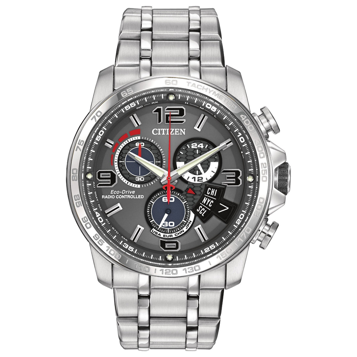 Citizen Eco Drive Chrono-Time A-T Men's Watch BY0100-51H