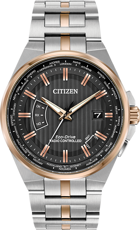 Citizen Eco Drive World Perpetual A-T Men's Watch CB0166-54H