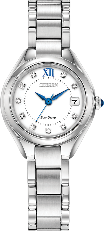 Citizen Eco Drive Silhouette Crystal Women's Watch EW2540-83A