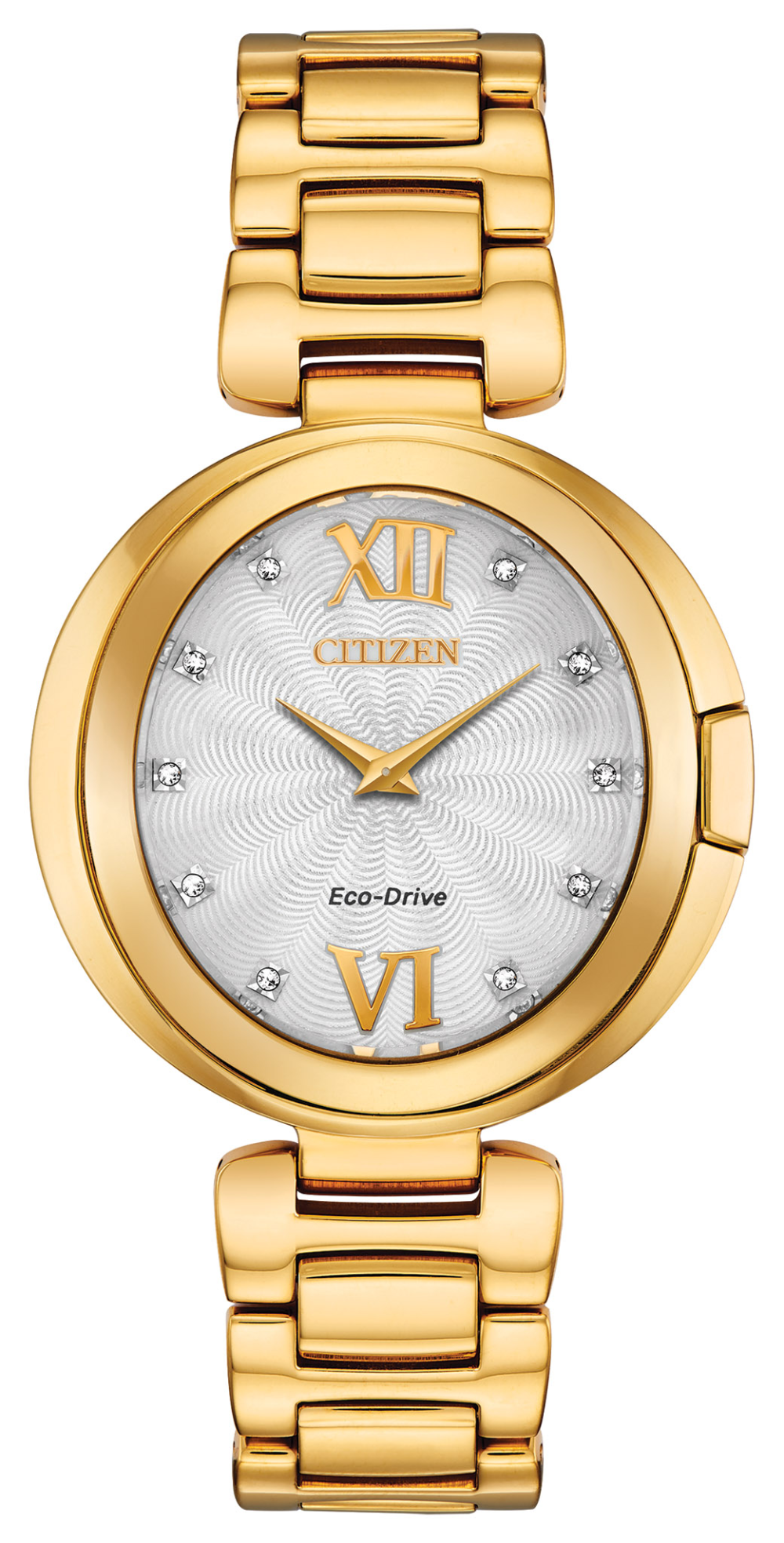 Citizen Capella Eco-Drive Diamonds Womens Watch EX1512-53A