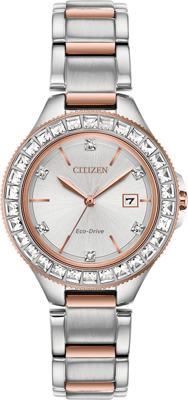 Citizen Eco Drive Silhouette Crystal Women's Watch FE1196-57A