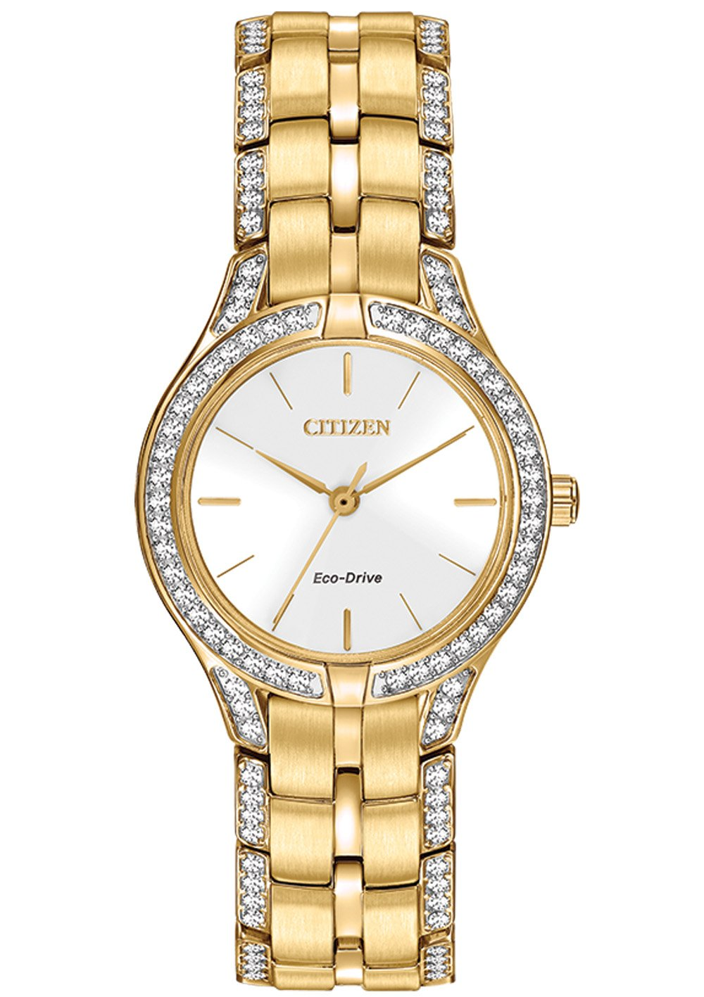 Citizen Eco-Drive Silhouette Crystal Women's Watch FE2062-58A