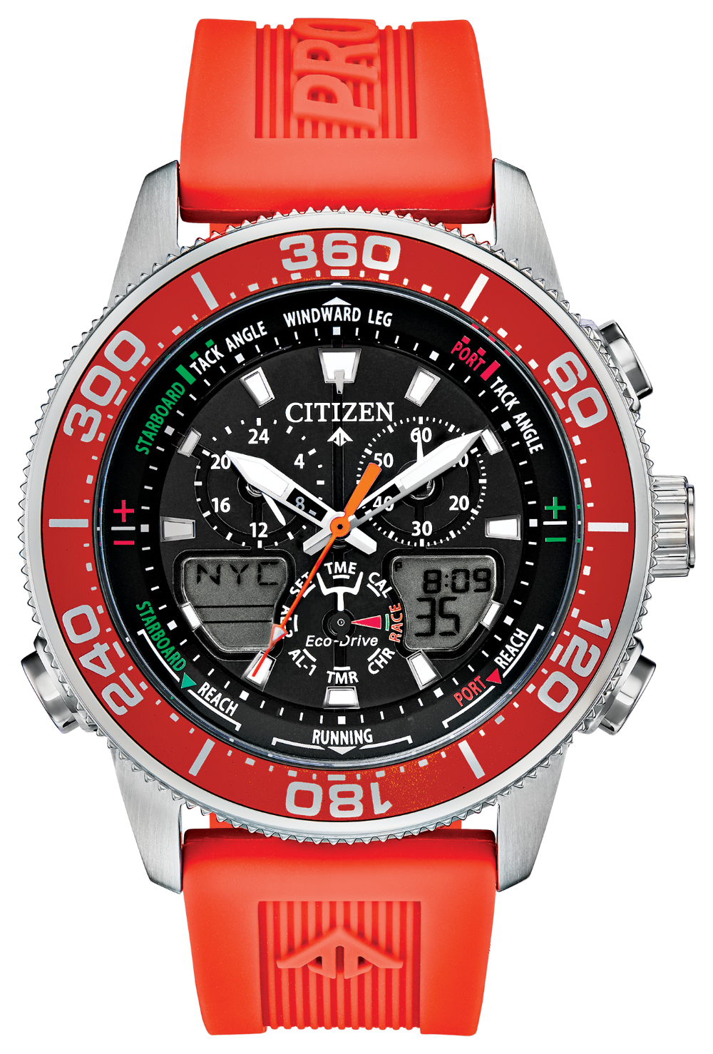 Citizen Eco Drive Promaster Sailhawk Men's Watch JR4061-00F