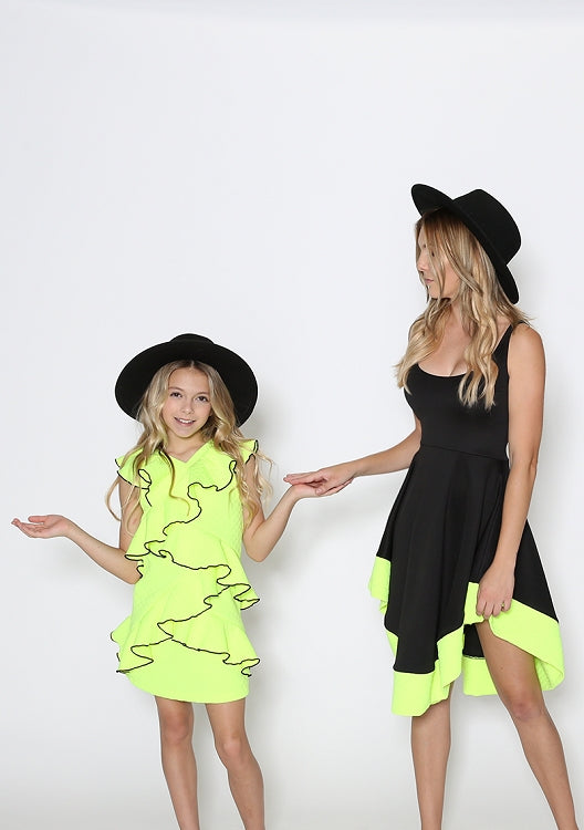 Neon Child Swag Dress
