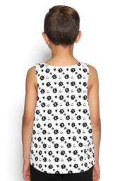 Side Pocket Mono Boys Tank