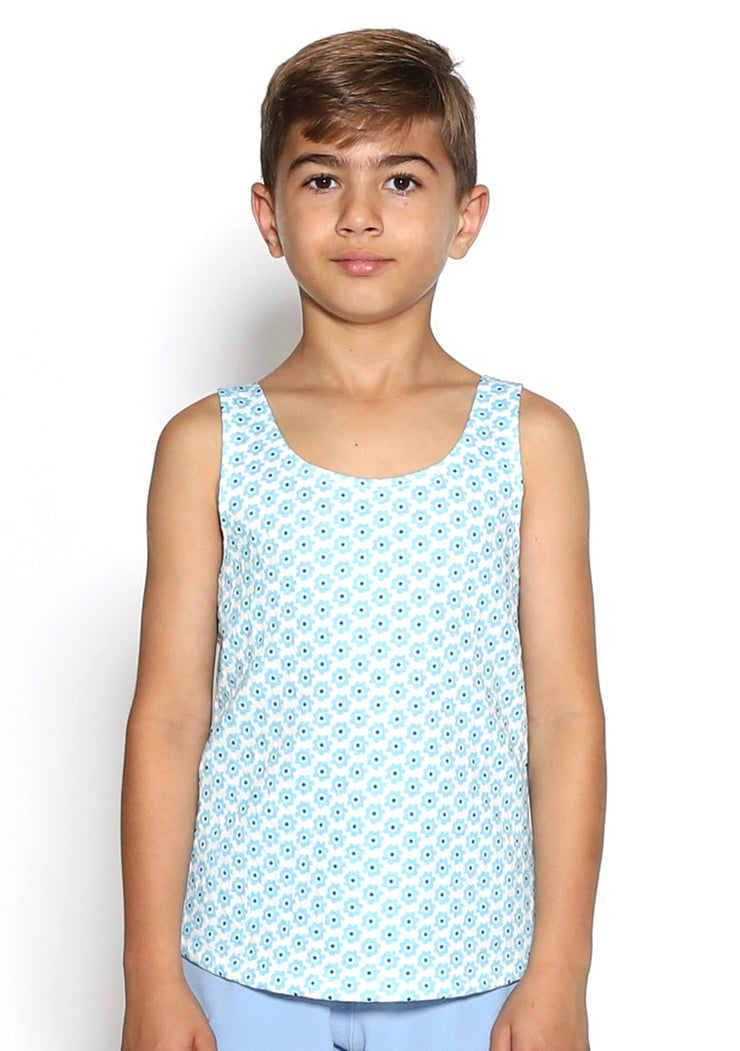 Dove Magic Blue Boys Tank