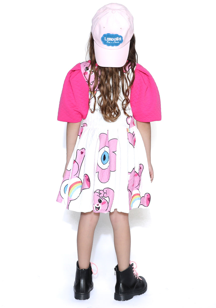 Lanoosh X Care Bears Puff Sleeve Dress