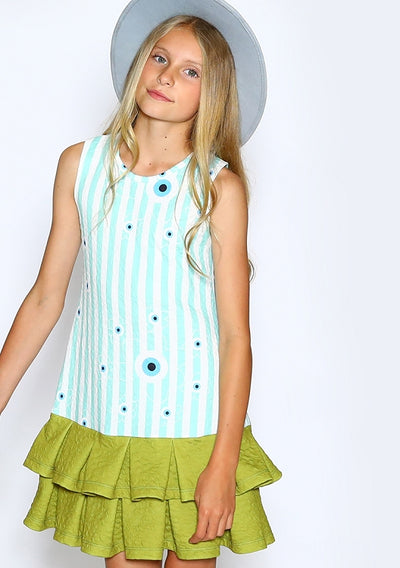 Eye Lines Firuze Child Dress