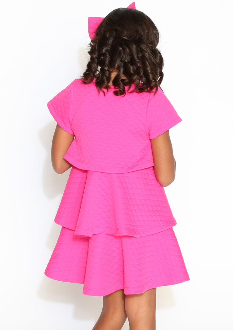 Peek a Boo Pink Dress