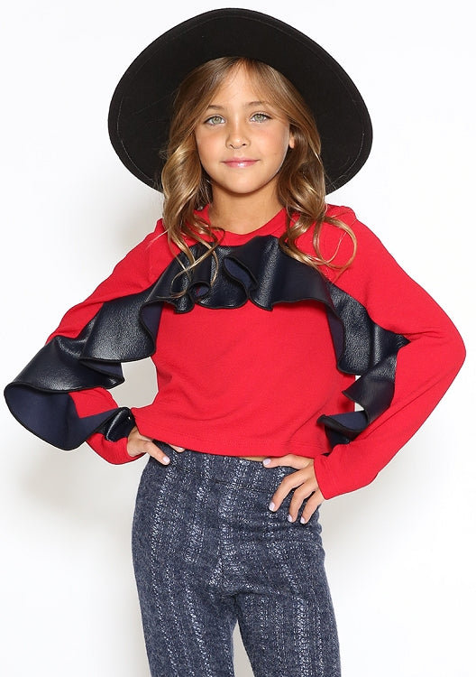 Red Flare Top